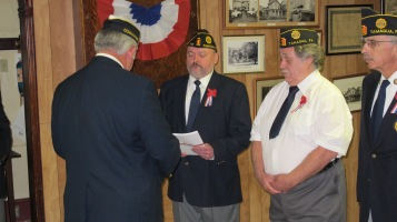 Installation of Officers, Tamaqua American Legion, Tamaqua, 9-12-2015 (61)