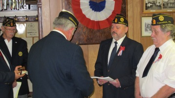 Installation of Officers, Tamaqua American Legion, Tamaqua, 9-12-2015 (62)