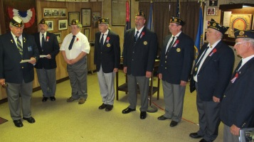 Installation of Officers, Tamaqua American Legion, Tamaqua, 9-12-2015 (63)