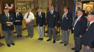 Installation of Officers, Tamaqua American Legion, Tamaqua, 9-12-2015 (64)