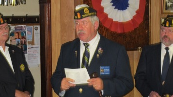 Installation of Officers, Tamaqua American Legion, Tamaqua, 9-12-2015 (67)