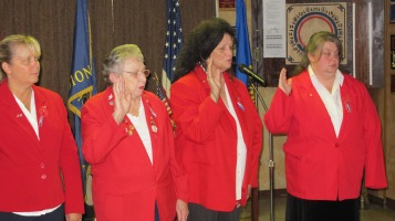 Installation of Officers, Tamaqua American Legion, Tamaqua, 9-12-2015 (9)