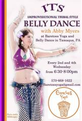 ITS, Bell Dance, Baretoes Yoga and Belly Dance, Tamaqua