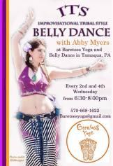 ITS, Bell Dance, Baretoes Yoga and Belly Dance, Tamaqua