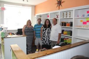 J & C Tanning Salon Opens, Summit Hill, 9-8-2015 (42)