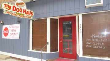 Opening, The Dog Haus, West Broad Street, Tamaqua, 9-11-2015 (10)