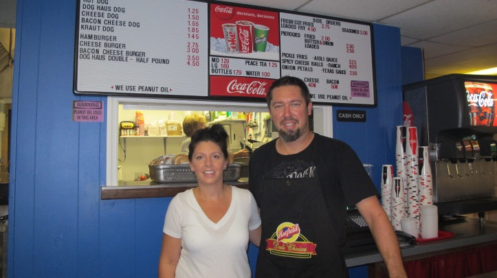 FILE PHOTO: Pictured are Dog Haus owners Chris and Tracey Stegemerten.