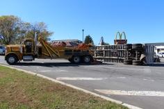 Overturned Tractor Trailer, SR54, Hometown, 10-19-2015 (105)