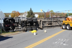 Overturned Tractor Trailer, SR54, Hometown, 10-19-2015 (111)