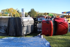 Overturned Tractor Trailer, SR54, Hometown, 10-19-2015 (122)