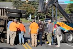 Overturned Tractor Trailer, SR54, Hometown, 10-19-2015 (138)
