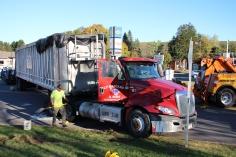 Overturned Tractor Trailer, SR54, Hometown, 10-19-2015 (202)