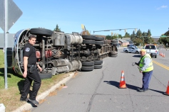 Overturned Tractor Trailer, SR54, Hometown, 10-19-2015 (6)