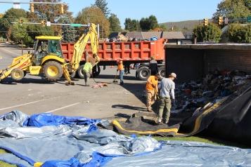 Overturned Tractor Trailer, SR54, Hometown, 10-19-2015 (66)