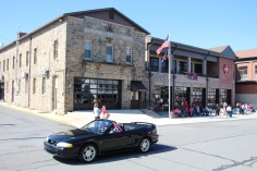 Parade for New Fire Station, Pumper Truck, Boat, Lehighton Fire Department, Lehighton (104)