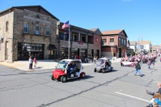Parade for New Fire Station, Pumper Truck, Boat, Lehighton Fire Department, Lehighton (112)