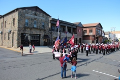 Parade for New Fire Station, Pumper Truck, Boat, Lehighton Fire Department, Lehighton (121)
