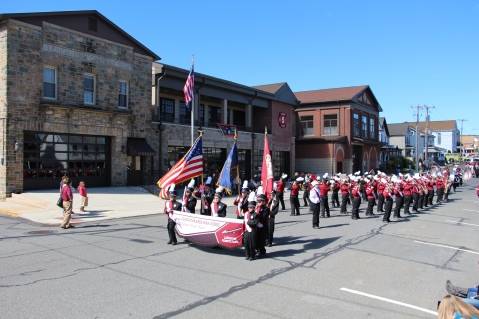 Parade for New Fire Station, Pumper Truck, Boat, Lehighton Fire Department, Lehighton (122)