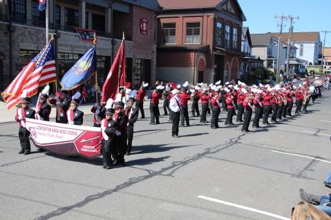 Parade for New Fire Station, Pumper Truck, Boat, Lehighton Fire Department, Lehighton (123)