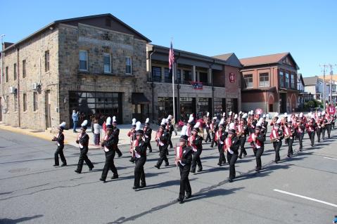 Parade for New Fire Station, Pumper Truck, Boat, Lehighton Fire Department, Lehighton (133)