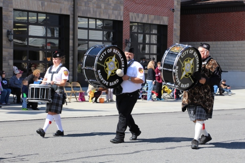 Parade for New Fire Station, Pumper Truck, Boat, Lehighton Fire Department, Lehighton (14)