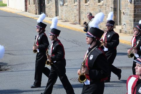 Parade for New Fire Station, Pumper Truck, Boat, Lehighton Fire Department, Lehighton (144)