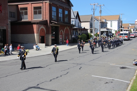 Parade for New Fire Station, Pumper Truck, Boat, Lehighton Fire Department, Lehighton (15)