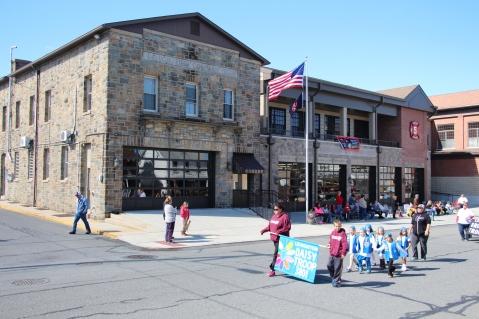 Parade for New Fire Station, Pumper Truck, Boat, Lehighton Fire Department, Lehighton (177)