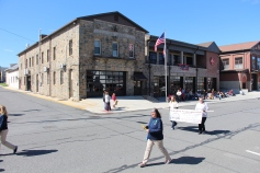 Parade for New Fire Station, Pumper Truck, Boat, Lehighton Fire Department, Lehighton (183)