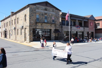Parade for New Fire Station, Pumper Truck, Boat, Lehighton Fire Department, Lehighton (184)