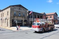 Parade for New Fire Station, Pumper Truck, Boat, Lehighton Fire Department, Lehighton (186)