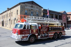 Parade for New Fire Station, Pumper Truck, Boat, Lehighton Fire Department, Lehighton (187)