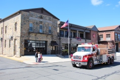 Parade for New Fire Station, Pumper Truck, Boat, Lehighton Fire Department, Lehighton (192)