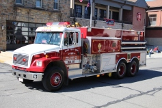 Parade for New Fire Station, Pumper Truck, Boat, Lehighton Fire Department, Lehighton (193)