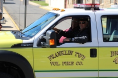 Parade for New Fire Station, Pumper Truck, Boat, Lehighton Fire Department, Lehighton (198)