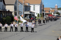 Parade for New Fire Station, Pumper Truck, Boat, Lehighton Fire Department, Lehighton (2)