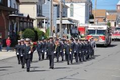 Parade for New Fire Station, Pumper Truck, Boat, Lehighton Fire Department, Lehighton (20)