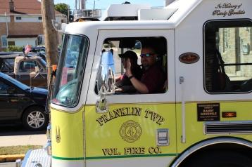 Parade for New Fire Station, Pumper Truck, Boat, Lehighton Fire Department, Lehighton (206)