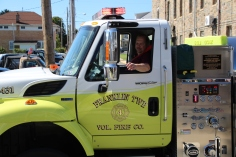 Parade for New Fire Station, Pumper Truck, Boat, Lehighton Fire Department, Lehighton (208)