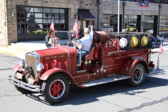 Parade for New Fire Station, Pumper Truck, Boat, Lehighton Fire Department, Lehighton (212)