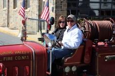 Parade for New Fire Station, Pumper Truck, Boat, Lehighton Fire Department, Lehighton (214)