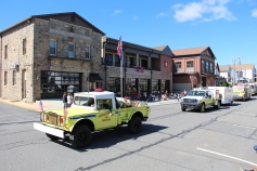Parade for New Fire Station, Pumper Truck, Boat, Lehighton Fire Department, Lehighton (216)