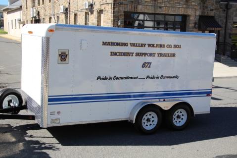 Parade for New Fire Station, Pumper Truck, Boat, Lehighton Fire Department, Lehighton (221)