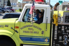 Parade for New Fire Station, Pumper Truck, Boat, Lehighton Fire Department, Lehighton (224)