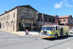 Parade for New Fire Station, Pumper Truck, Boat, Lehighton Fire Department, Lehighton (225)