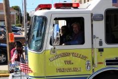 Parade for New Fire Station, Pumper Truck, Boat, Lehighton Fire Department, Lehighton (226)