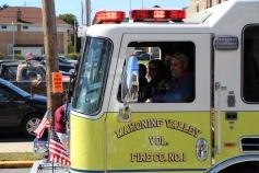 Parade for New Fire Station, Pumper Truck, Boat, Lehighton Fire Department, Lehighton (227)