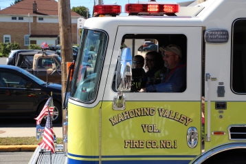 Parade for New Fire Station, Pumper Truck, Boat, Lehighton Fire Department, Lehighton (228)