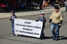 Parade for New Fire Station, Pumper Truck, Boat, Lehighton Fire Department, Lehighton (231)