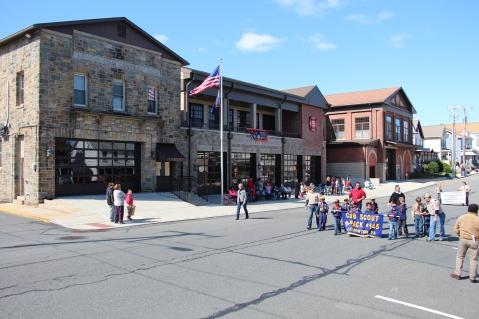 Parade for New Fire Station, Pumper Truck, Boat, Lehighton Fire Department, Lehighton (233)
